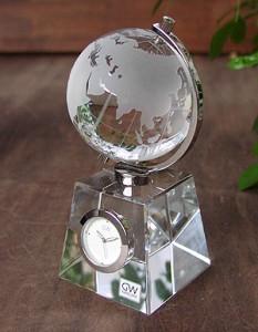 取引先の社長就任祝いに地球儀の時計
