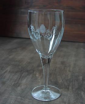 還暦祝いのワイングラス