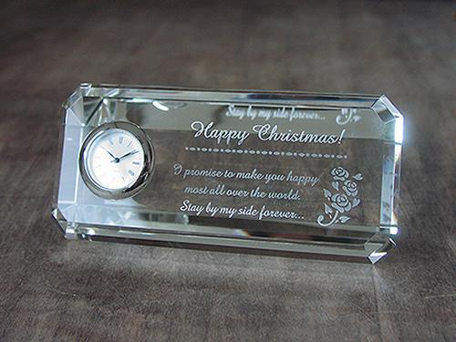 クリスマスに時計の贈り物