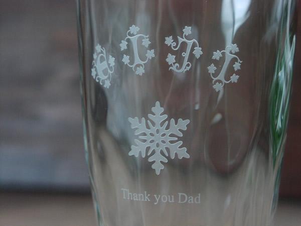 父の日にグラスのプレゼント